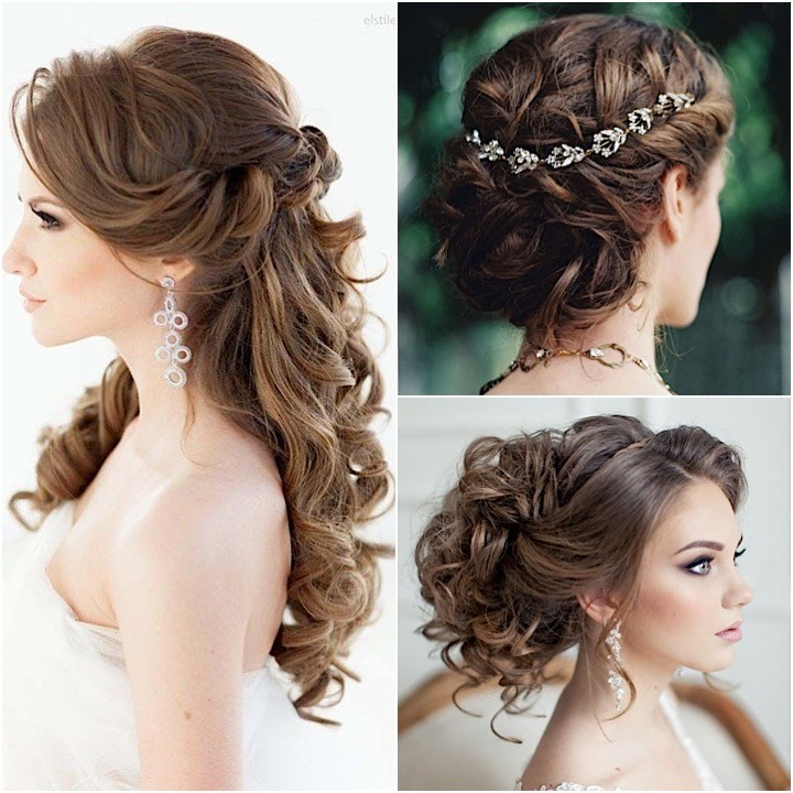Perfect Wedding Hairstyle With Hairpieces
