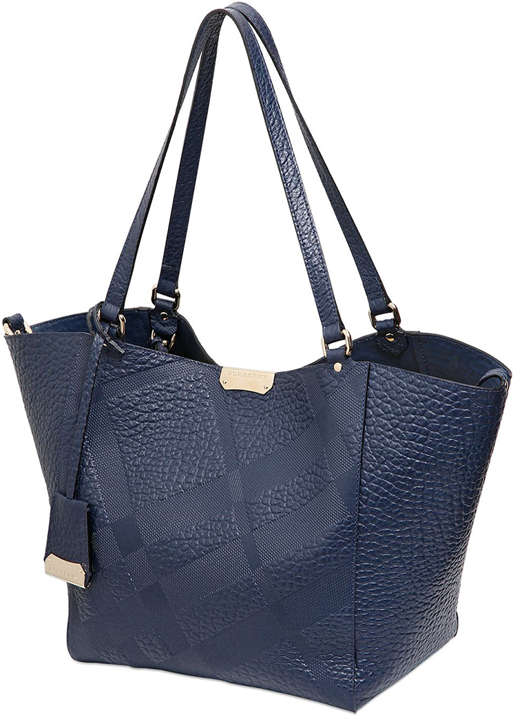 Burberry Canterbury Elephant Embossed Tote Bag For Lady's ...