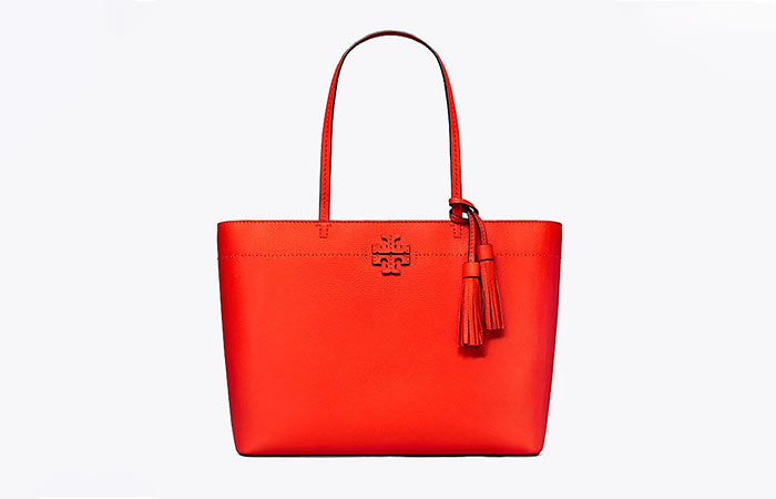2. Tory McGraw Leather Tote Bag