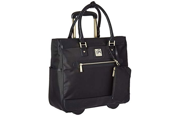 3. Kenneth Cole Rolling Laptop Bag