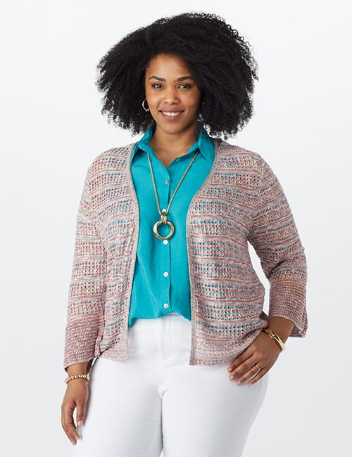 Bell Sleeves Sweater Style Cardigan