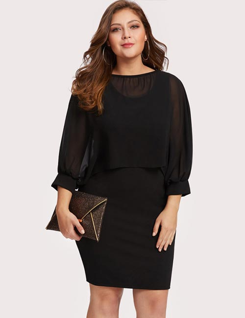 Plus Size Semi-Formal Dresses