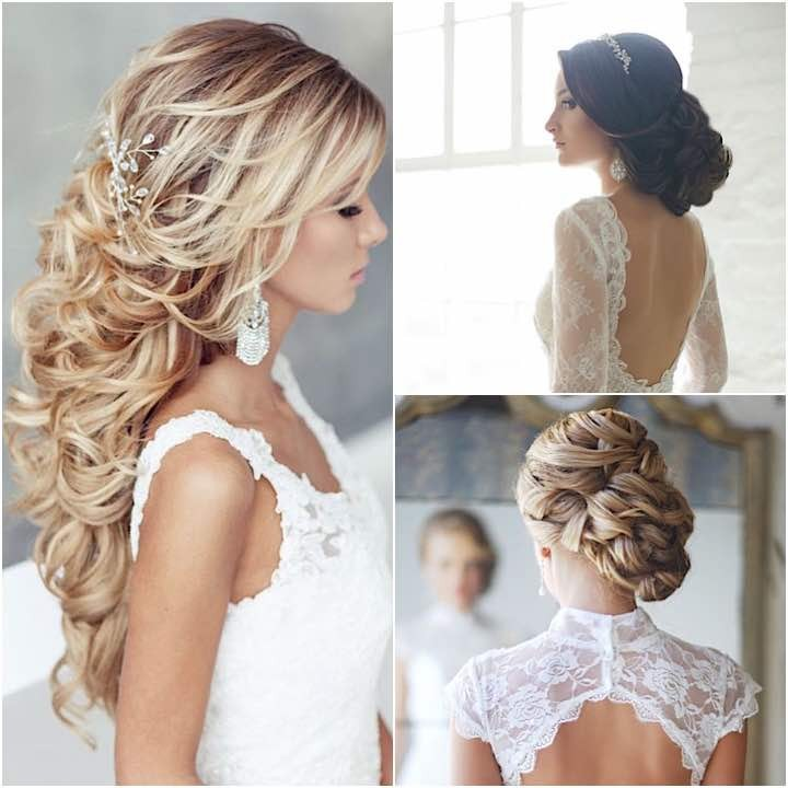 Different wedding hairstyles make you look pretty