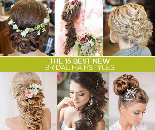 BE A PRTEEY BRIDE: THE 15 BEST NEW BRIDAL WEDDING HAIRSTYLES